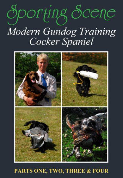 Modern Gundog Training Cocker Spaniel - Parts 1, 2, 3 & 4