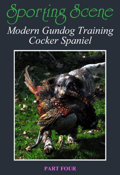 Modern Gundog Training Cocker Spaniel Part Four