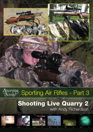 Sporting Air Rifle Part 3 Shooting Live Quarry 2