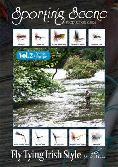 Fly Tying Irish Style Dry Flies & Emergers