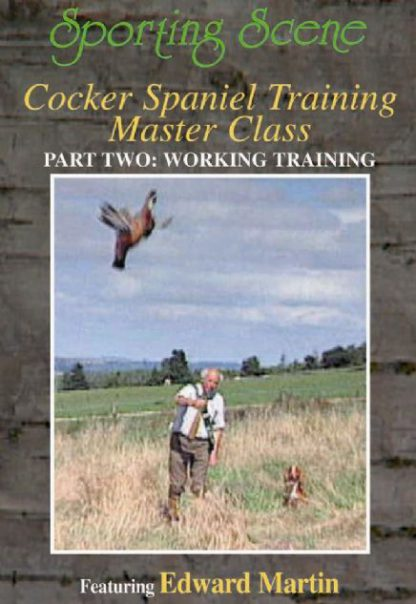 Cocker Spaniel Training Master Class Part Two - Working Training